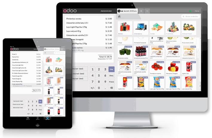 Odoo CMS- Exemple d'image flottante